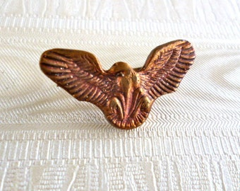 Antique Eagle Pin - military sytle