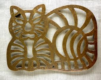 Sale Brass Cat Pot Brass Trivet