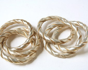 TWO Vintage Napkin Rings