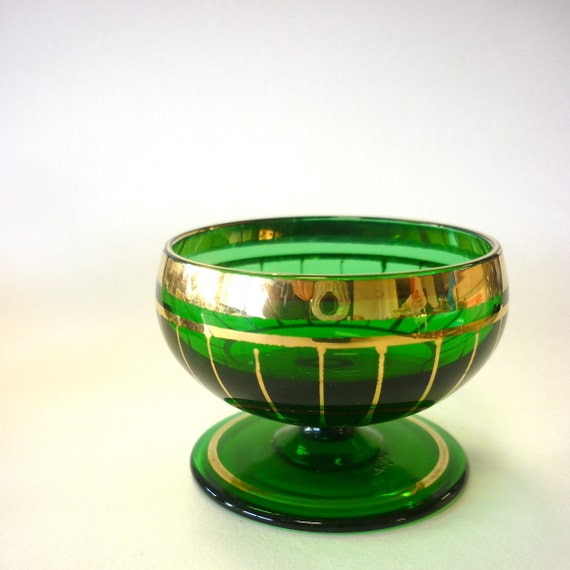 SALE 1920 Green and Gold Cup