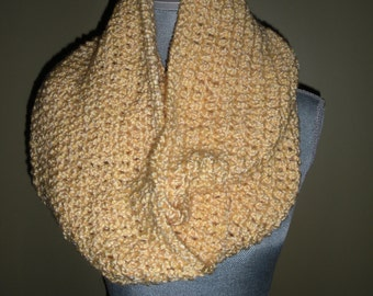 Cowl neck Scarf in Yellow