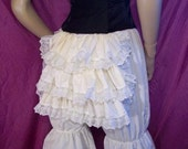 cotton bustle bloomers    (knee-length)