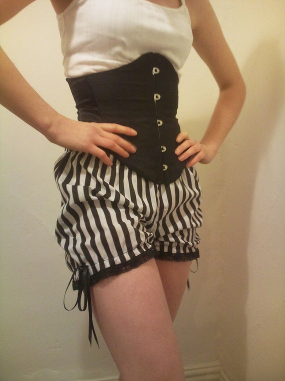short stripe bloomers