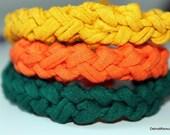 3 Jersey Knit Bracelets