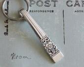 Spoon Key Ring Silverware Key Ring Spoon Keychain Coronation Pattern