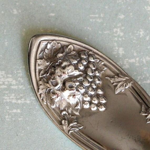 Spoon Keychain Spoon Key Ring Silverware Key Chain LaVigne Pattern