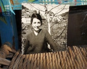 Smiling Young Lady In Bavarian Mountains - Close-Up Vintage Photo - Photo Y