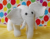 knitting pattern instructions- Eddie Nursery White Elephant pdf immediate digital download knitting pattern