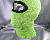 Instant Digital File PDF Download knitting pattern - Biker Balaclavav pdf download knitting pattern