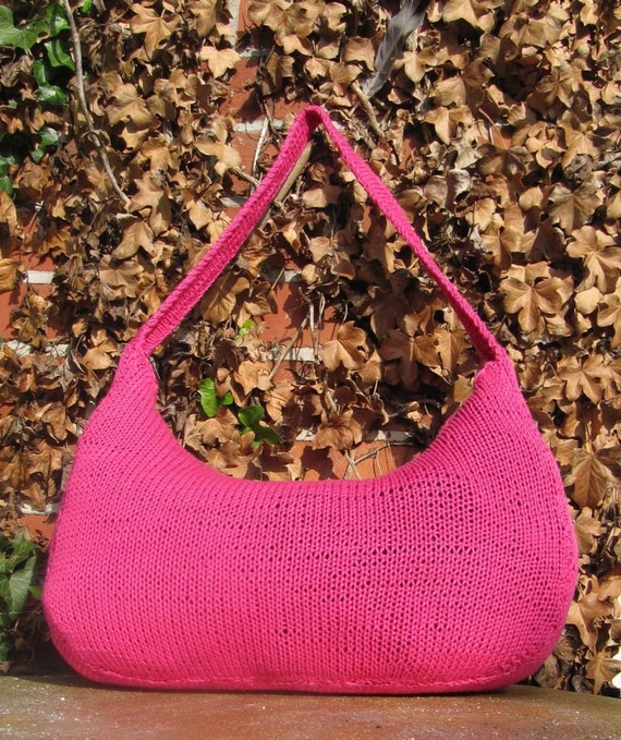 Knit Slouch Bag Pattern Free : madmonkeyknits slouch bag pdf knitting pattern by ...