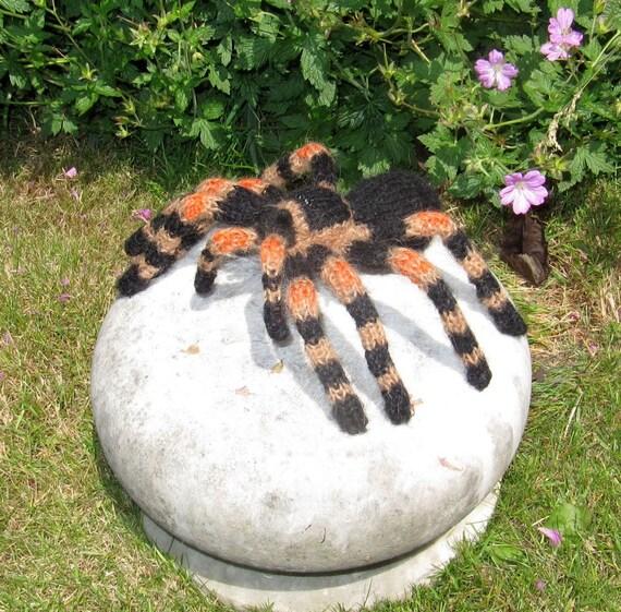 Instant Digital File PDF Download My Pet Tarantula Toy Spider pdf download knitting pattern