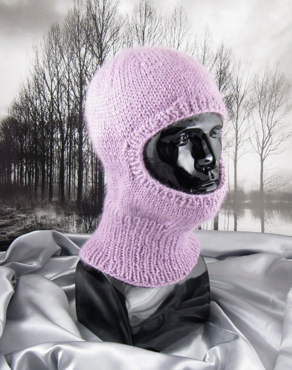 Chunky Balaclava Knitting Pattern : 40% OFF SALE madmonkeyknits- Simple Chunky Balaclava pdf download knitting pa...