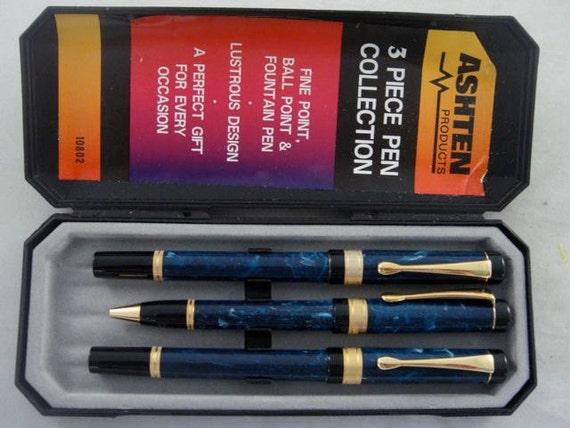 Ashten 3 Piece Pen Collection