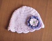 Loopsy Daisy Flapper Hat (Crochet Pattern)