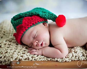 Santa's Little Elf Hat (Crochet Pattern)