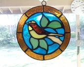 golden finch suncatcher