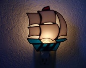 clipper ship nightlight