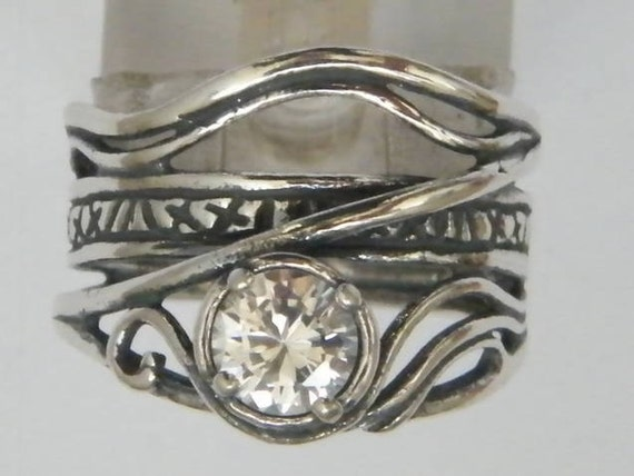 VikasTreasures - hippie ring , cubic zirconia ring ...