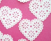 Romantic Doily Heart Punches