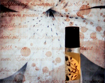 Vintage Bouquet Perfume Oil Chloe-Inspired natural botanical fragrance -1/3 ounce romance in a bottle