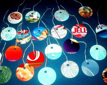 TRP -  Large Recycled Cardboard Hang Tags Lot of 100 embellishments