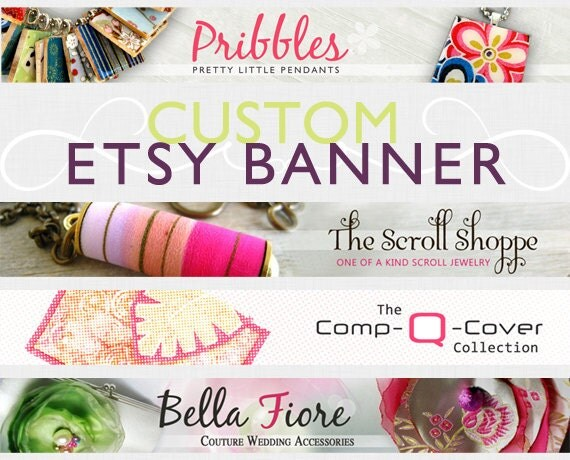 Custom shop Banner & Avatar, OOAK design