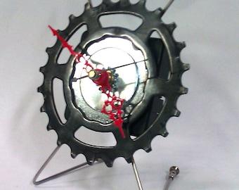 Black Xcross Desk Clock