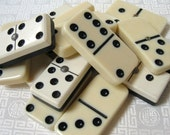 Vintage Dominos Game Pieces for Altered Art, Jewelry, Crafts