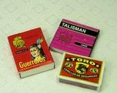 3 Vintage Match Boxes