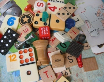 Game Pieces Vintage 30 Plus