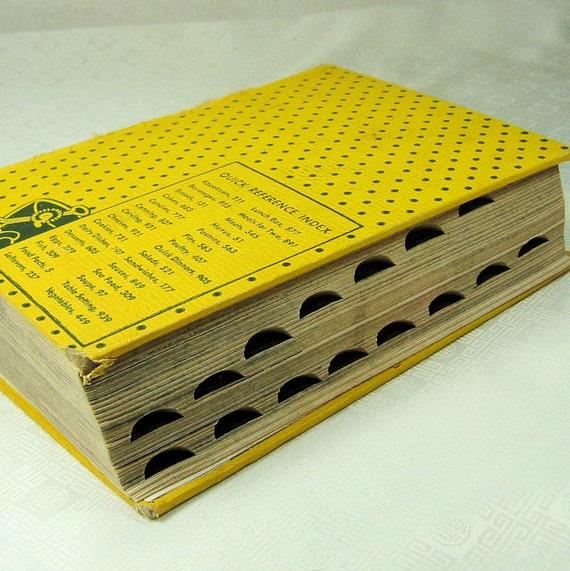 Vintage Cookbook Encyclopedia Culinary Arts