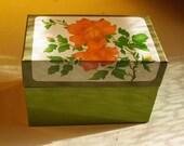 Granny's Vintage Recipe Box