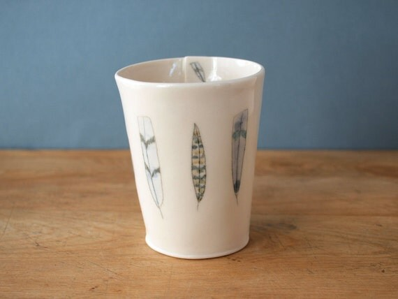 feather cup. no.75