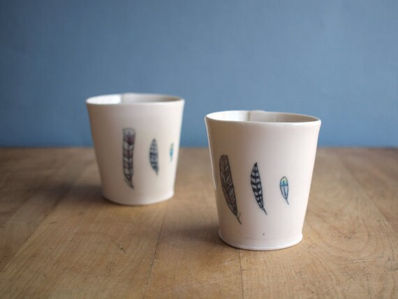 reserved for aftelier feather cup small.