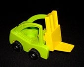 Vintage Fisher Price Little People FORK LIFT TRUCK rigs