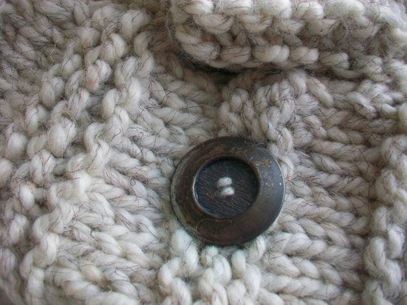 Cozy Neck Warmer With Button