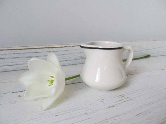 Small Vintage Ironstone Pitcher