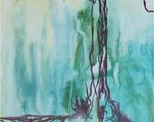 RESERVED FOR BROOP - patience - original painting - ready to hang