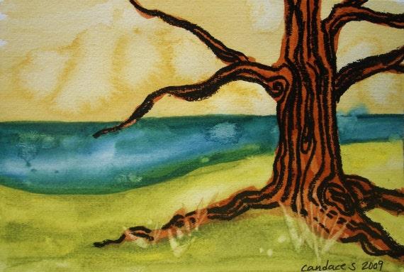 seafarer - original painting - matted