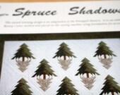 Spruce Shadows quilt pattern