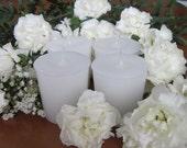 CARNATIONS (4 votives or 4oz soy jar candle)