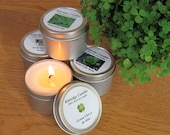 IRISH  SAMPLER (four 2-oz soy candles)