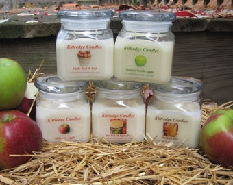 APPLE LOVERS COLLECTION - One 10-oz Soy Jar Candle (15% discount)