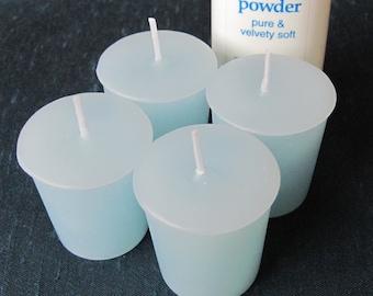 BABY POWDER (4 votives or 4-oz soy jar candle)