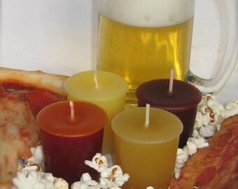 PARTY SAMPLER (set of 4 votive candles)