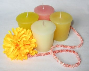 TROPICAL FRUIT SAMPLER (set of 4 votive candles)