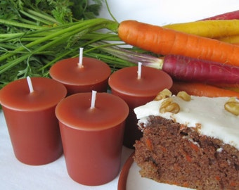 CARROT CAKE  (4 votives or 4-oz soy jar candle)