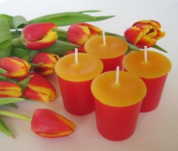 TULIPS (4 votives or 4-oz soy jar candle)