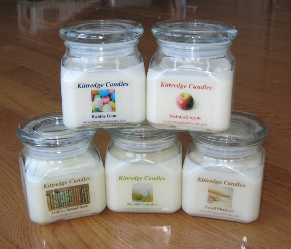 TEACHER COLLECTION - 10 oz Soy Jar Candle