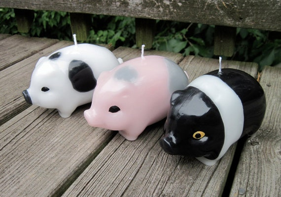 PIG Candle (2-color)
